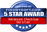 Sep 19, 2006. Certified 5 stars award at FindNySoft.com